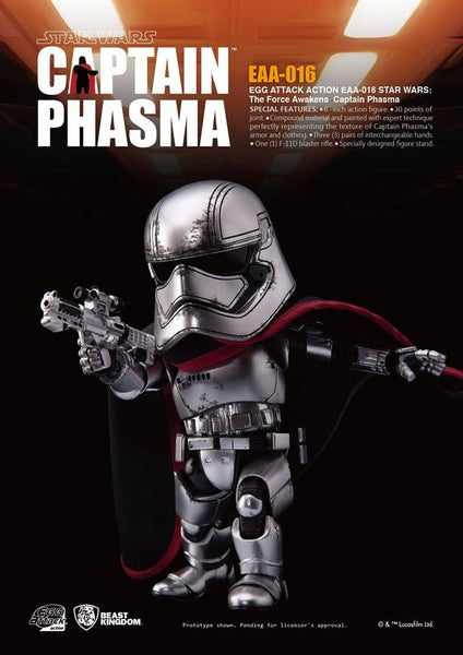 Egg Attack Action: EAA-016 Star Wars: The Force Awakens Captain Phasma