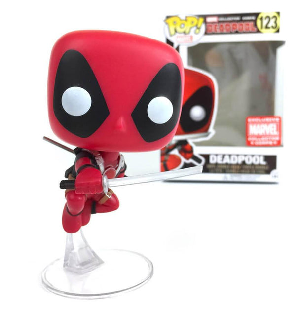Pop! Deadpool 123: Deadpool (Leaping)