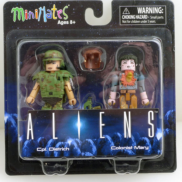 Minimates Aliens Cpl. Dietrich with Colonist Mary