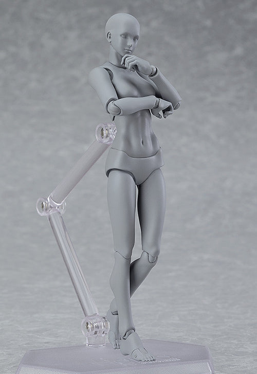 figma 03♀ archetype next: [she] gray color ver.