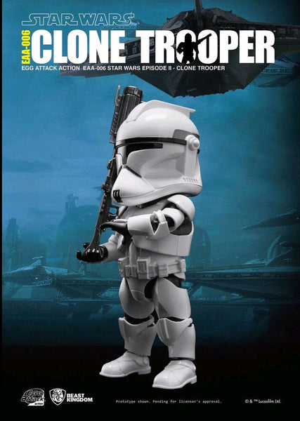 Egg Attack Action: EAA-006 Star Wars: Episode II Clone Trooper
