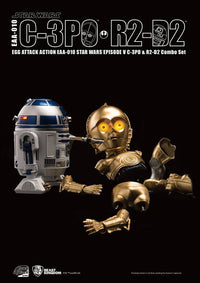 Egg Attack Action: EAA-010 Star Wars: Episode V C-3PO & R2-D2 Combo Set