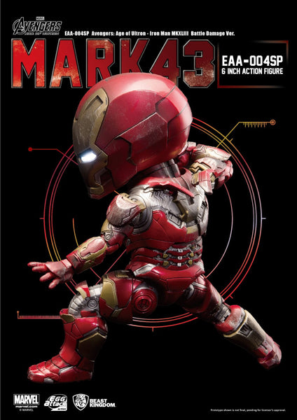 Egg Attack Action: EAA-004SP Avengers: Age Of Ultron Iron Man Mk 43