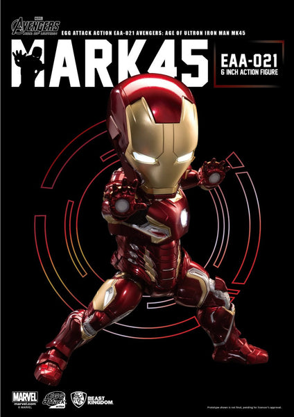 Egg Attack Action: EAA-021 Avengers: Age Of Ultron Iron Man Mk 45