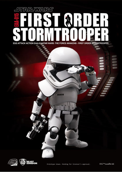 Egg Attack Action: EAA-015 Star Wars: The Force Awakens First Order Stormtrooper