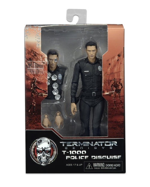 NECA Terminator Genisys T-1000 Police Disguise