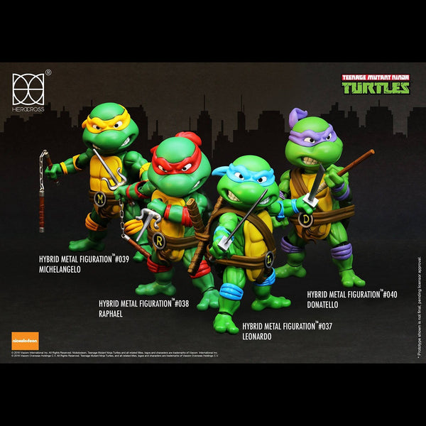 Hybrid Metal Figuration #303 TMNT 4-Pack