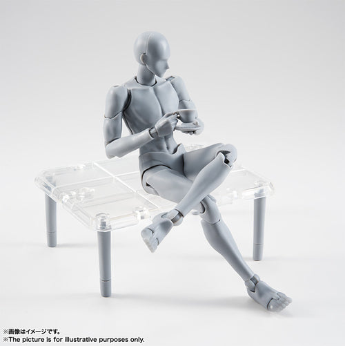 S.H. Figuarts Takarai Rihito Edition Body Kun DX Set [Grey Color Ver.]