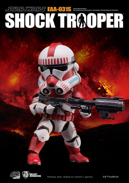 Egg Attack Action: EAA-031SP Star Wars: Episode III Shock Trooper