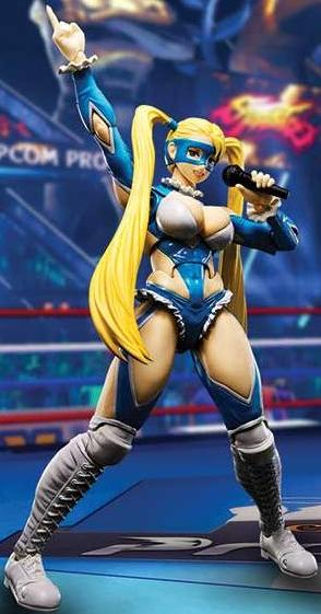 S.H. Figuarts: Street Fighter V Rainbow Mika
