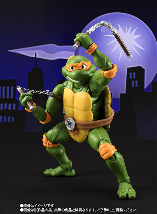 S.H. Figuarts Teenage Mutant Ninja Turtles Michelangelo
