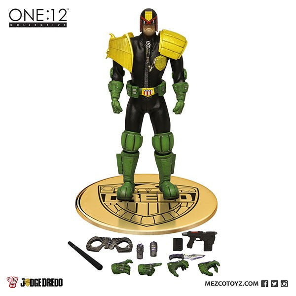 Mezco One:12 Collective Judge Dredd