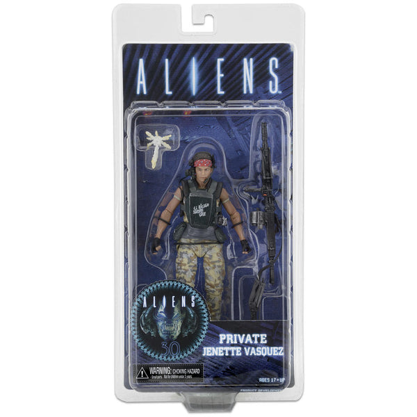 NECA Aliens Private Jenette Vasquez
