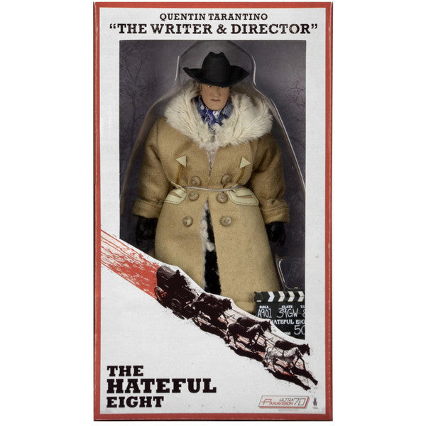 NECA The Hateful Eight Quentin Tarantino (The Writer & Director)