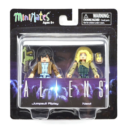 Minimates Aliens Jumpsuit Ripley with Newt