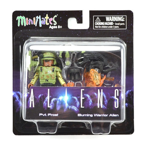 Minimates Aliens Pvt. Frost with Burning Alien