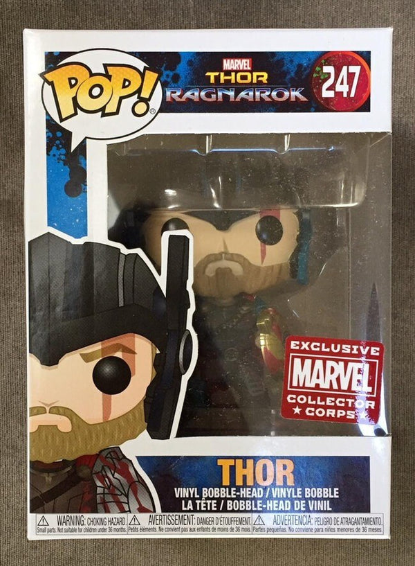 Pop! Thor Ragnarok 247: Thor (w/ Shield)