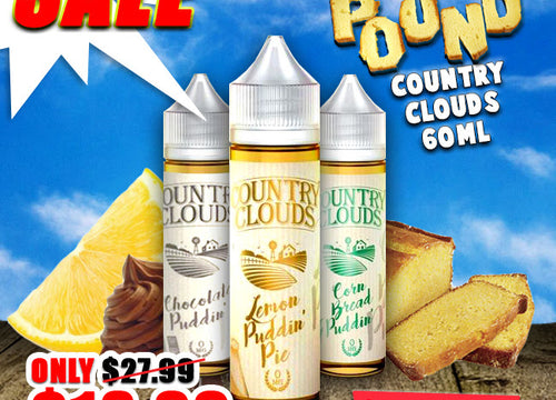 By The Pound's New Country Clouds Line