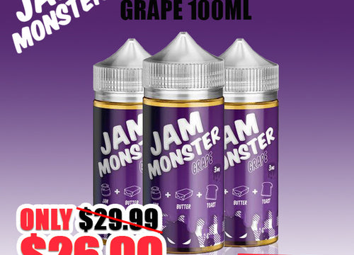 GRAPE 100ML by Jam Monster