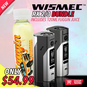 Presenting The WISMEC RX 2/3 BUNDLE