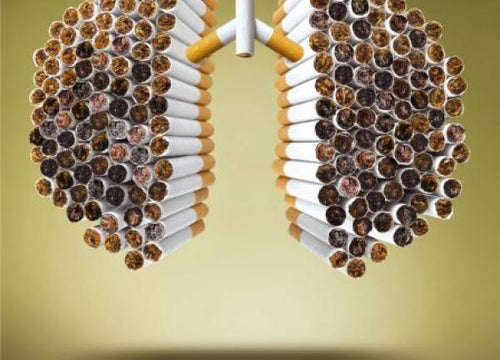 What smoking 400 cigarettes does to your lungs