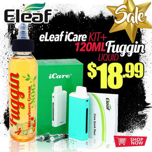 Check Out This Fuggin Bundle: ELEAF ICARE KIT BUNDLE
