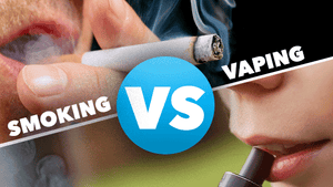 Smoking Vs. Vaping
