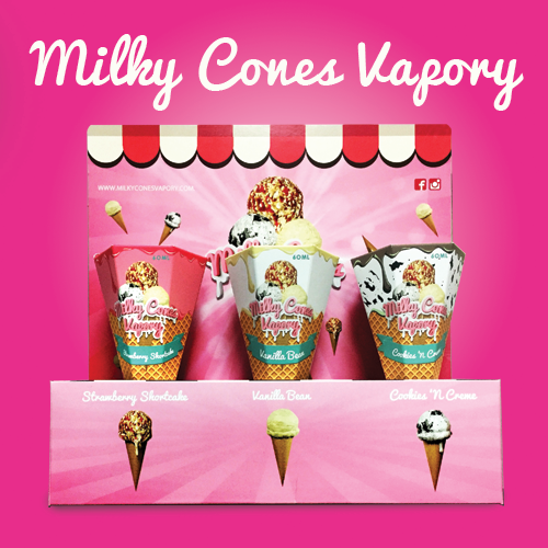 Milky Cones Vapory