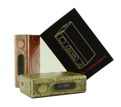 Nano Steampunk 100w TC Box Mod