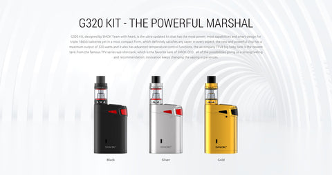 G320 Marshal Kit - Fuggin Vapor Co.