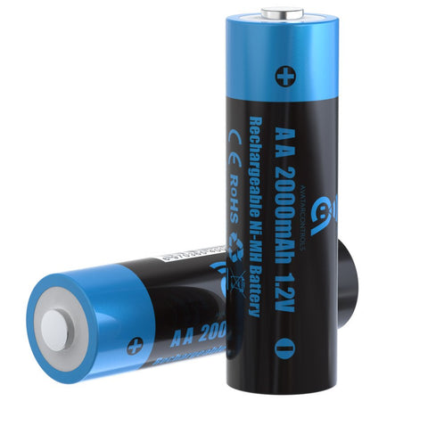 Avatar Ni-MH AA (2000mAh) Rechargeable Battery - 1pc