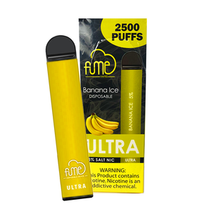 ($19.49 w/ code) Fume ULTRA Disposable Vape - Banana Ice