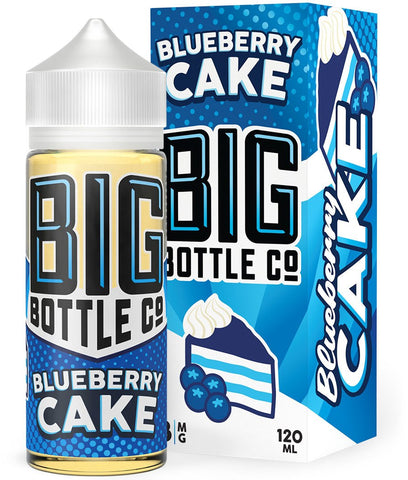 Big Bottle Co - Blueberry Cake 120mL