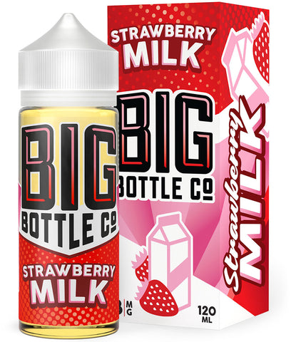 Big Bottle Co - Strawberry Milk 120mL