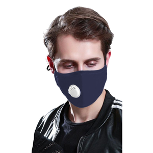 Reusable Face Mask w/ Filter Pocket