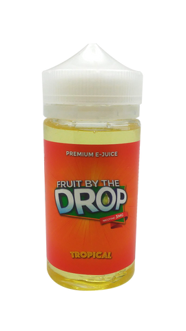 Fruit by the Drop Tropical 200mL - 3 NICOTINE ONLY - Limited Edition - Fuggin Vapor Co.