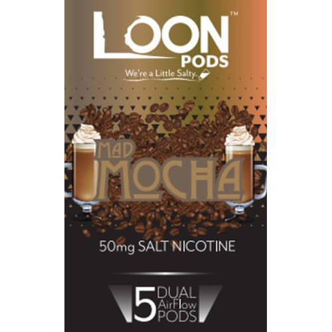 Loon Pods Mad Mocha (Juul Compatible) - 5PK