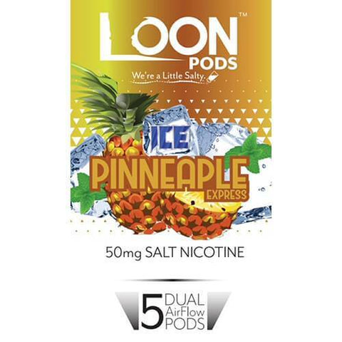 Loon Pods Ice Pineapple Express (Juul Compatible) - 5PK