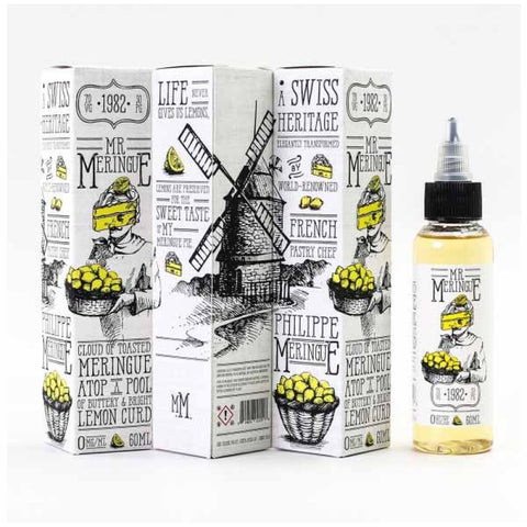 Mr Meringue Lemon 60mL