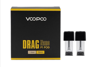 VooPoo Drag Nano P1 Replacement Pods - 2PK