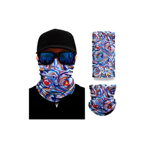 2 Pcs - Graphic Face Mask Sleeve 2 PACK