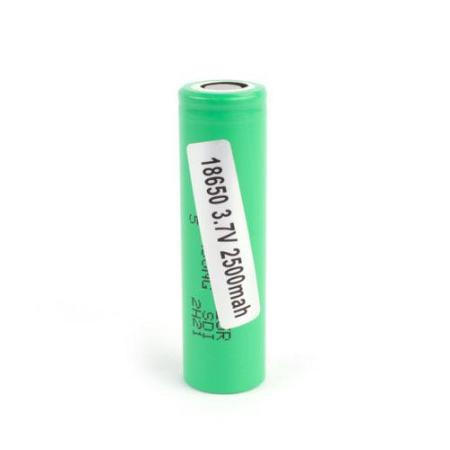 Samsung INR 18650-25R 2500mah Flat Top Battery