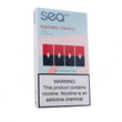 Sea100 Raspberry Menthol (Juul Compatible) - 4 Pack