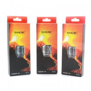 SMOK TFV8 Baby Replacement Coils - 5 Pack + 120mL Fuggin eLiquid