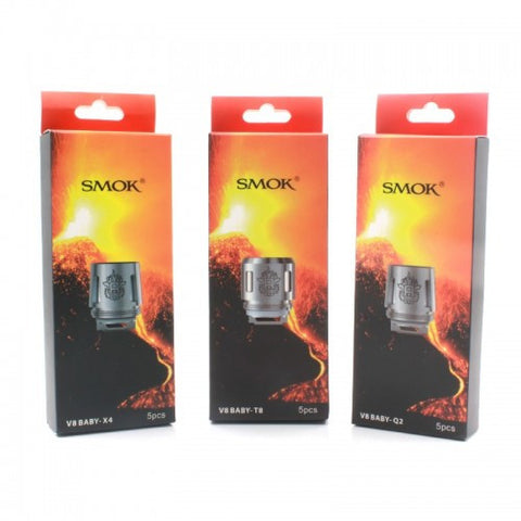 TFV8 Baby T6 Replacement Coils - 5 Pack