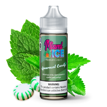 Miami Ice Spearmint Candy 120mL