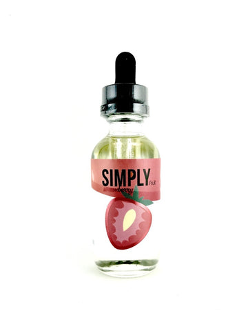 Simply Strawberry 60mL - Fuggin Vapor Co.