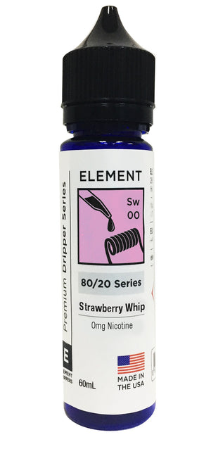 Element | Strawberry Whip Dripper - 60mL