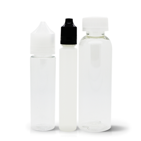Empty Child Resistant Bottles (30mL, 60mL & 120mL)
