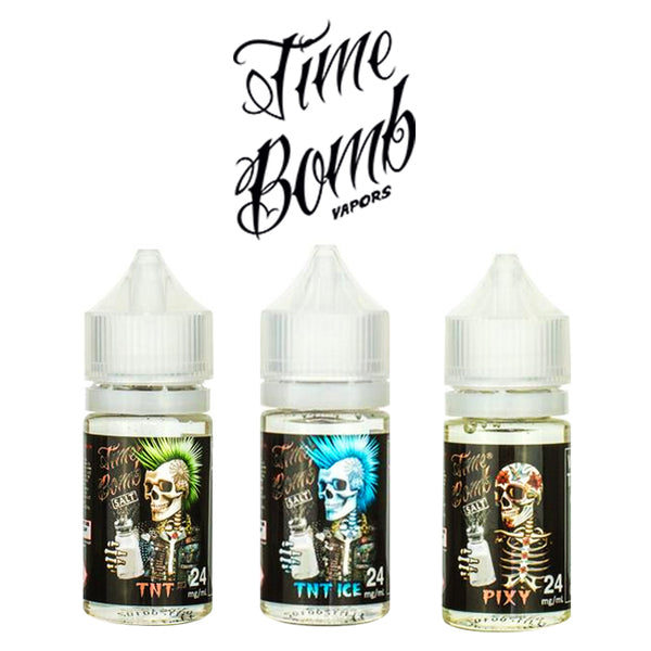 Time Bomb Salt Bundle (90mL) + Free Pod System